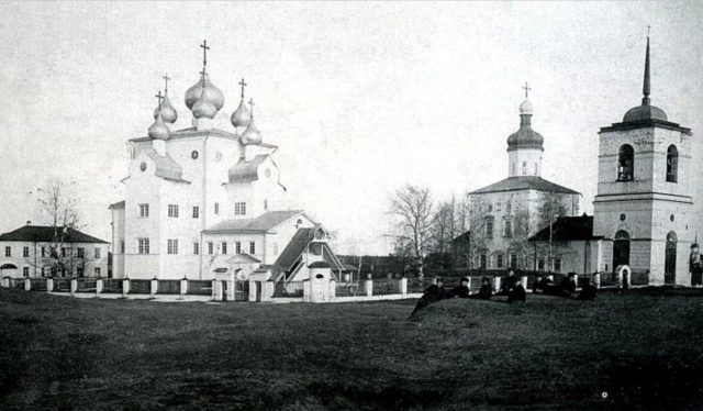 Shenkursk The Cathedral of Michael the Archangel