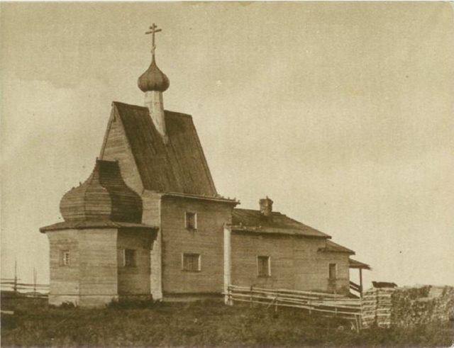 Chukhcherma. Church of St. Basil the Blessed