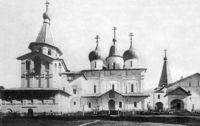 Surroundings of Kholmogory. Holy Trinity Antonievo-Sii Monastery