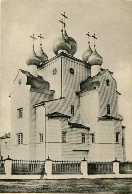 The Cathedral of Michael the Archangel  Many historians identify Shenkursk w