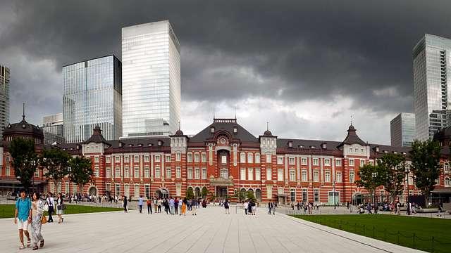 Tokyo  Station .