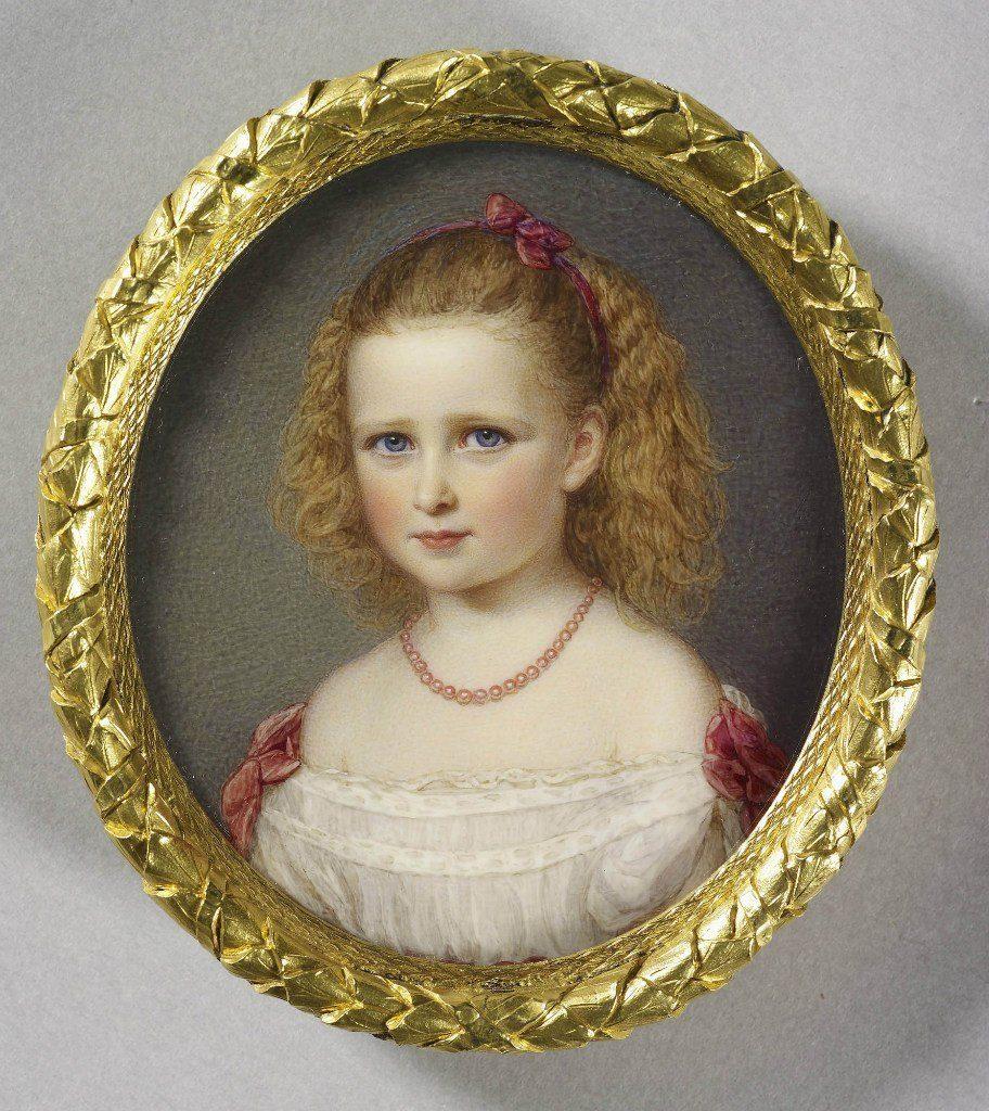 Elizabeth Alexandra Louise Alice portrait 1868
