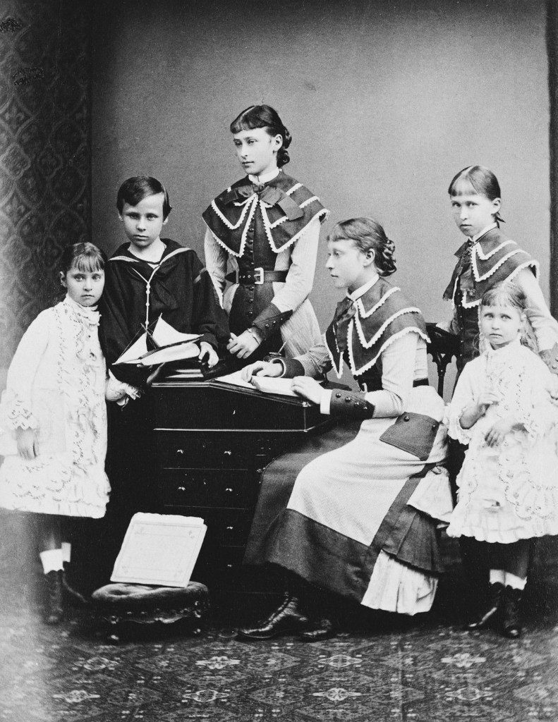 Children of the Grand Duke of Hesse Ludwig IV and the Grand Duchess of Alice