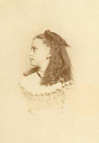 Elizabeth Alexandra Louise Alice Princess Hesse-Darmstadt 1886