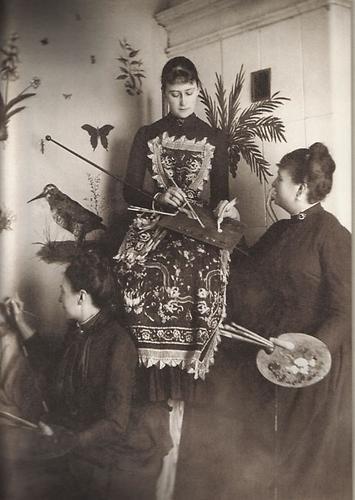 Grand Duchess Elizabeth Feodorovna for painting classes.