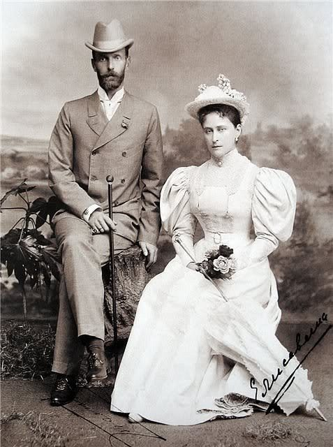 Grand Duke Sergey Alexandrovich and Grand Duchess Elisaveta Feodorovna.