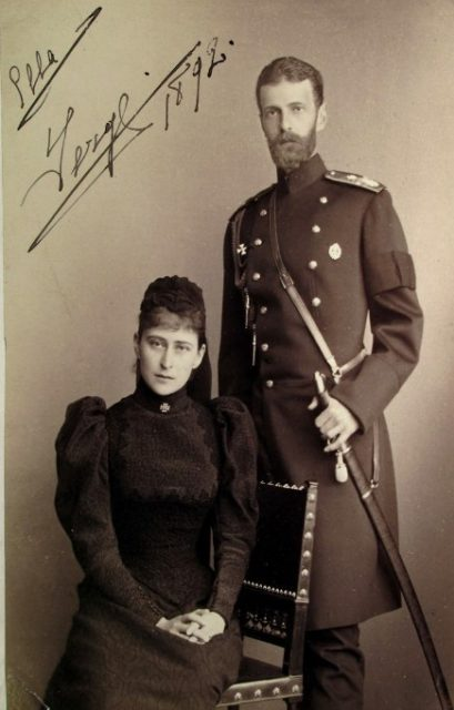Grand Duke Sergey Alexandrovich and Grand Duchess Elisaveta Feodorovna. 1892