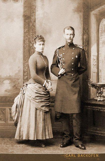 Grand Duke Sergey Alexandrovich and Grand Duchess Elisaveta Feodorovna.