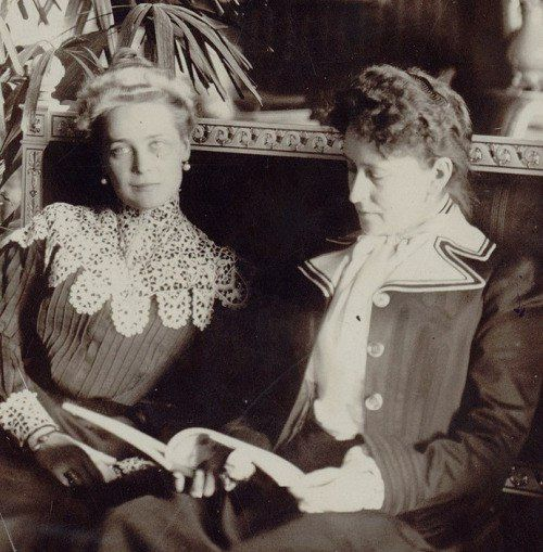 Grand Princess Elizabeth Feodorovna and Princess Zinaida Nikolaevna Yusupova.