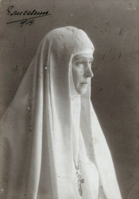 Grand Duchess Elizabeth Feodorovna - head of the Martha and Mary Convent of the Sisters of Mercy
