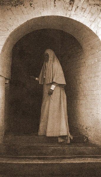 Grand Duchess Elizabeth Feodorovna as a nun
