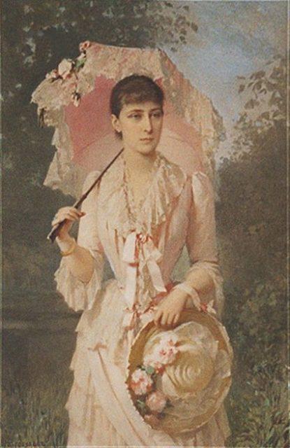 Grand Duchess Elizabeth Feodorovna - painting portrait