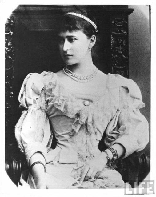 Her Imperial Highness Grand Duchess Elizabeth Feodorovna.