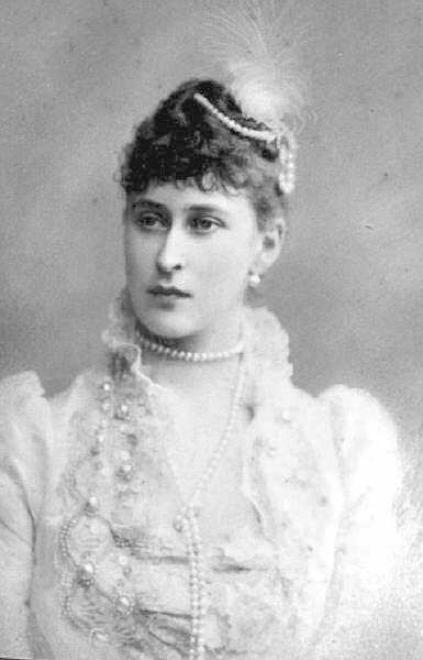 Portrait of Her Imperial Highness Grand Duchess Elizabeth Feodorovna.