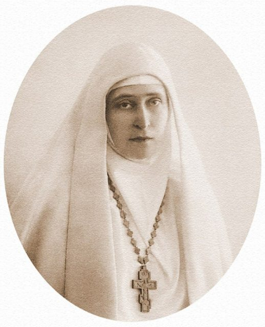 Grand Duchess Elizabeth Feodorovna. 1914
