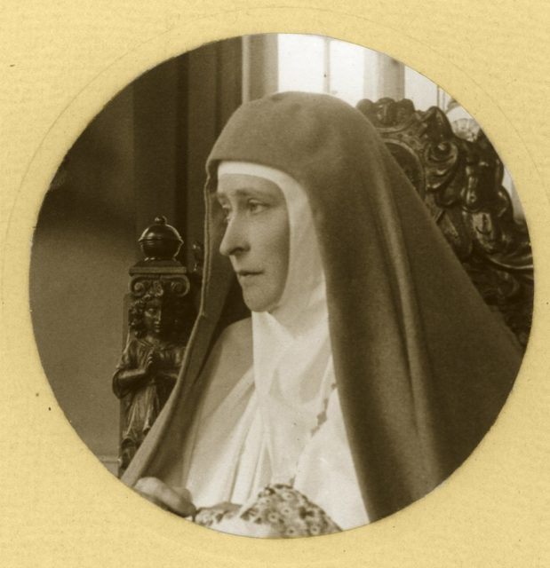 Elizabeth Feodorovna. Founder and head of the Martha and Mary Convent of the Sisters of Mercy