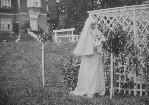 Elizabeth Feodorovna in the Martha and Mary Convent of the Sisters of Mercy