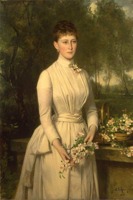 Painting of Grand Duchess Elizabeth Feodorovna.