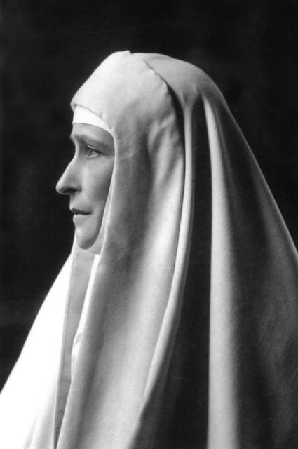 Elizabeth Feodorovna. Great Mother. Founder and head of the Martha and Mary Convent of the Sisters of Mercy in Moscow.