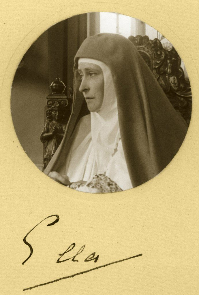 Ella. Founder and head of the Martha and Mary Convent of the Sisters of Mercy - Grand Duchess Elizabeth Feodorovna.