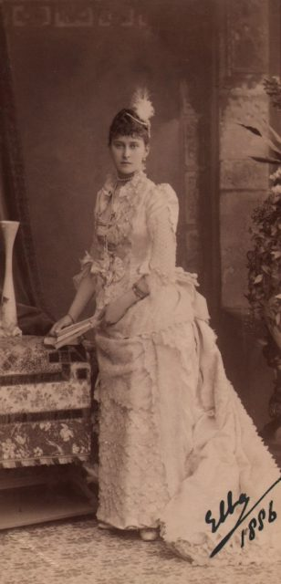 Grand Duchess Elizabeth Feodorovna. 1886