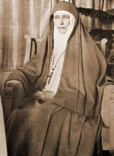 Founder and head of the Martha and Mary Convent of the Sisters of Mercy in Moscow Elizabeth Feodorovna.