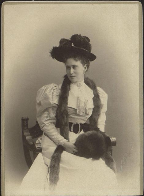 Grand Duchess Elizabeth Feodorovna. Portrait.