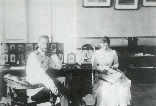 His Imperial Highness Sergey Alexandrovich and Her Imperial Highness Grand Duchess Elizabeth Feodorovna.