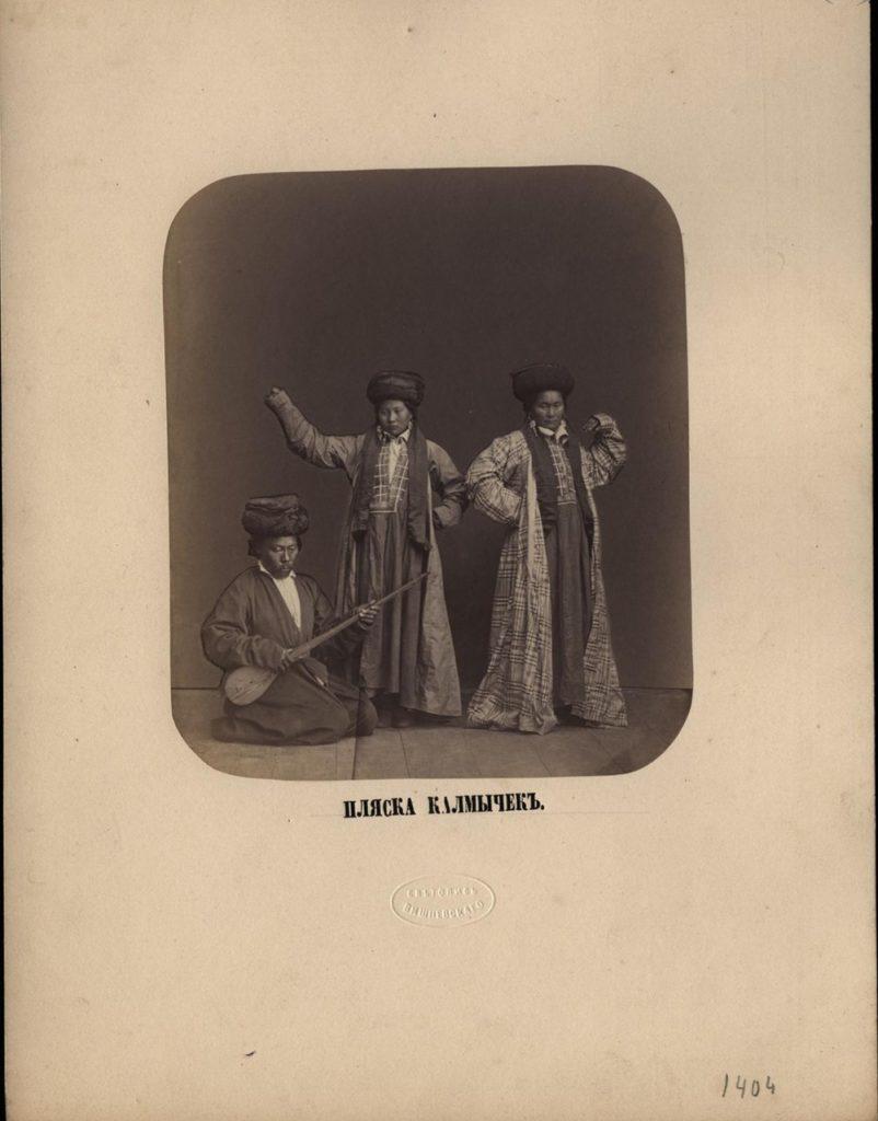 Astrakhan, Dance of Kalmyk women