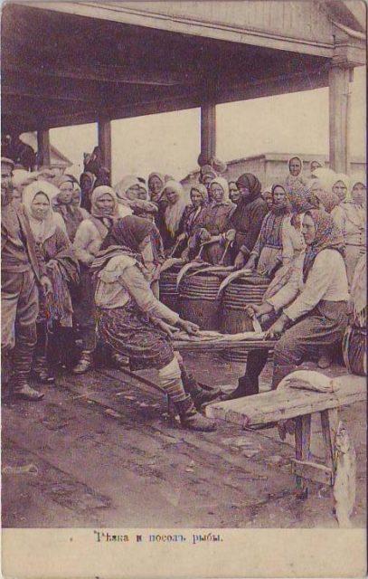 Astrakhan, Fish processing