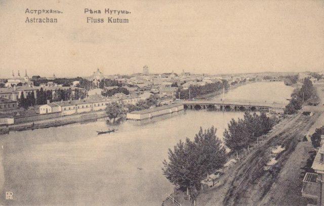 Astrakhan, Kutum River