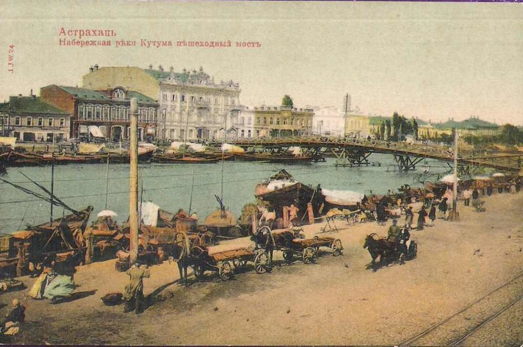Astrakhan, Kutum river embarkment