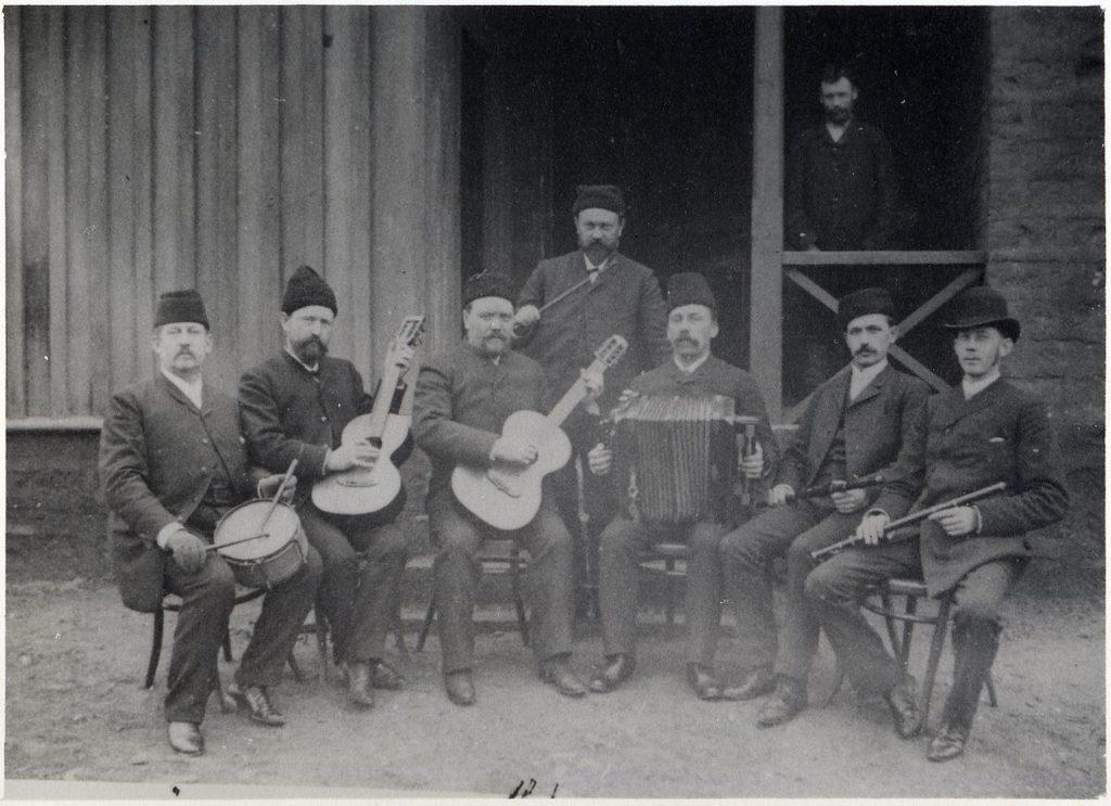 Astrakhan musicians
