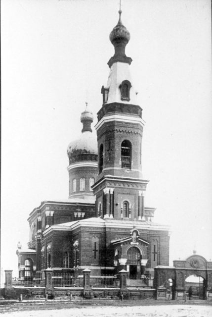 Astrakhan, Orthodox church of the Protection of the Holy Virgin
