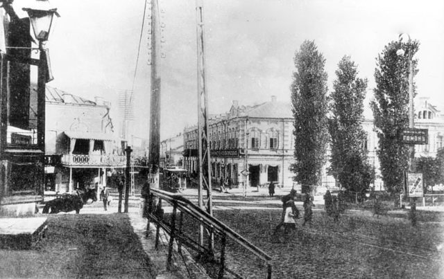 Astrakhan street scene