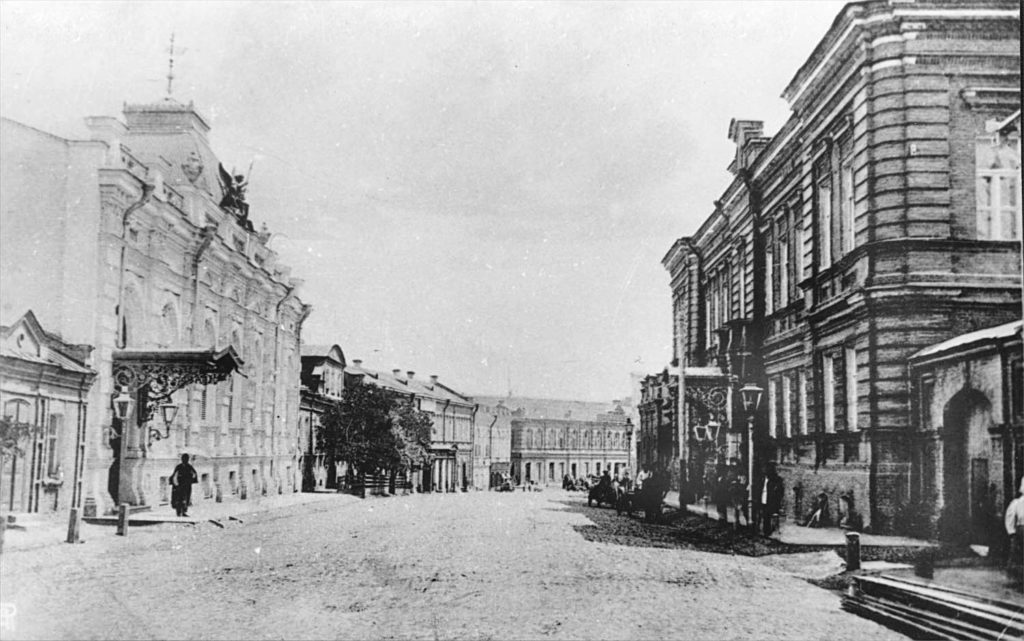 Astrakhan, Sunny day