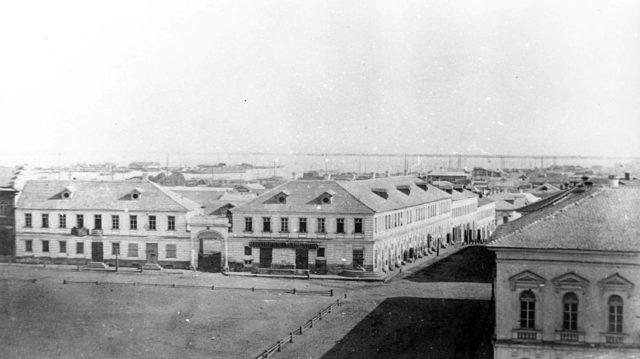 Astrakhan harbor