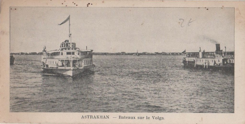 Astrakhan, Steamboats on Volga