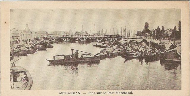Astrakhan, Merchant port