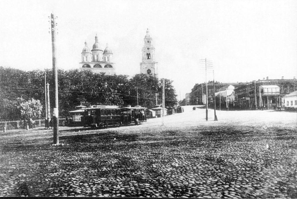 Astrakhan Tram station