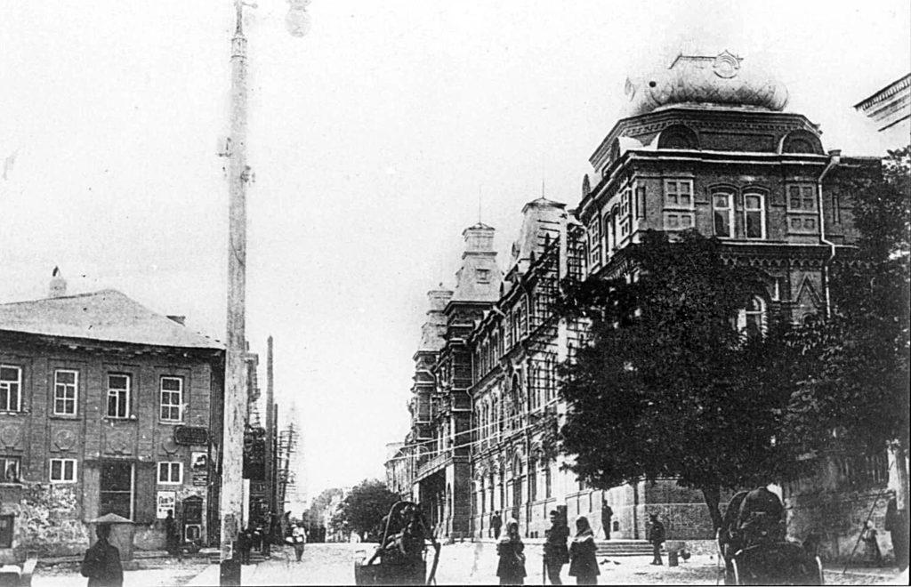 Astrakhan streets