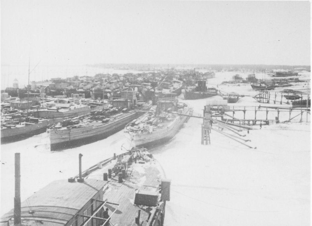 Astrakhan, Tankers of Nobel factories