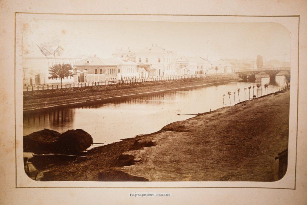 Astrakhan, The Varvartsev canal
