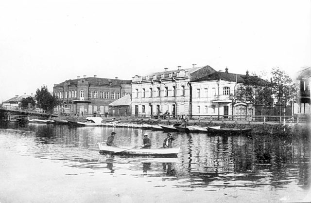 Astrakhan, Yakovlev's house near the Tatar bridge