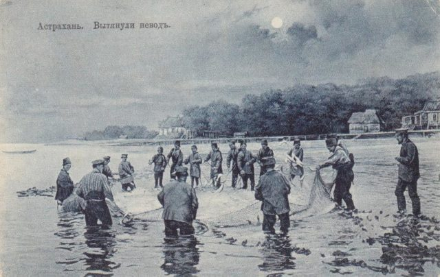 Fishing nets. Astrakhan