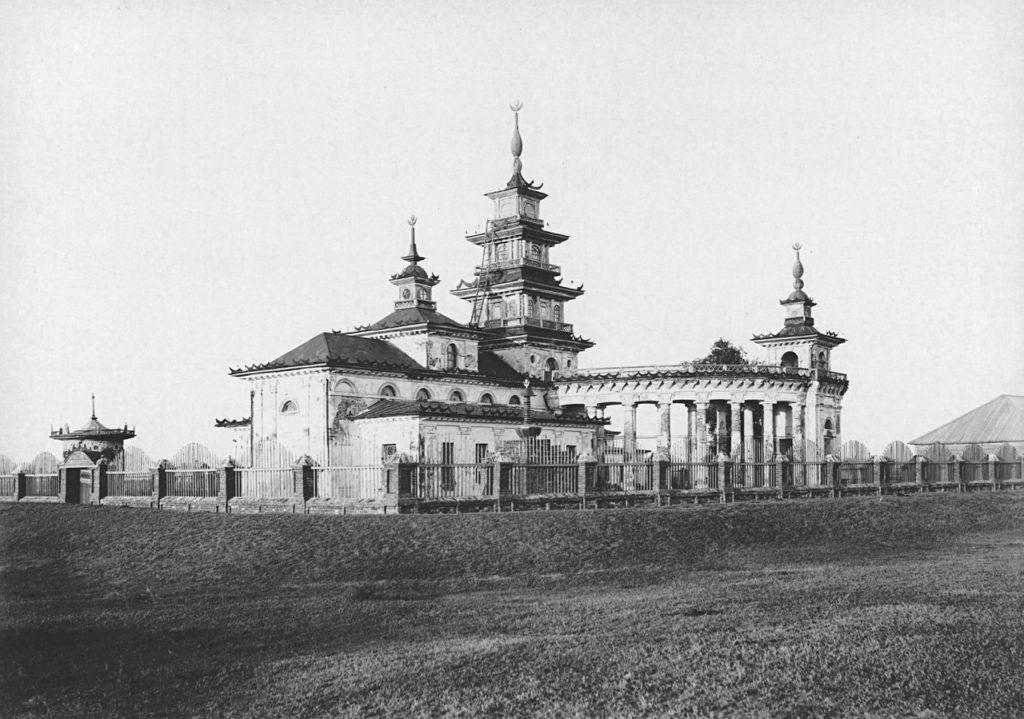 Kalmyk Khusheutovsky Khurul. Astrakhan
