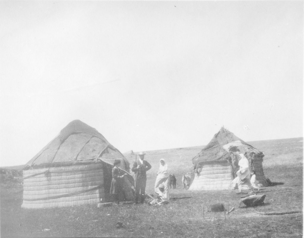 Kirghiz tent in the Nogai steppes near Astrakhan. 1894