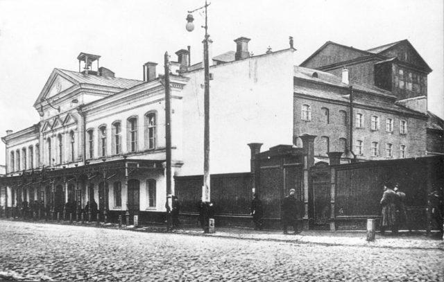 Plotnikov Theater - Astrakhan, South Russia city on Volga River