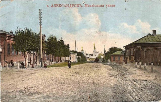 Millionnaya street. Alexandrov