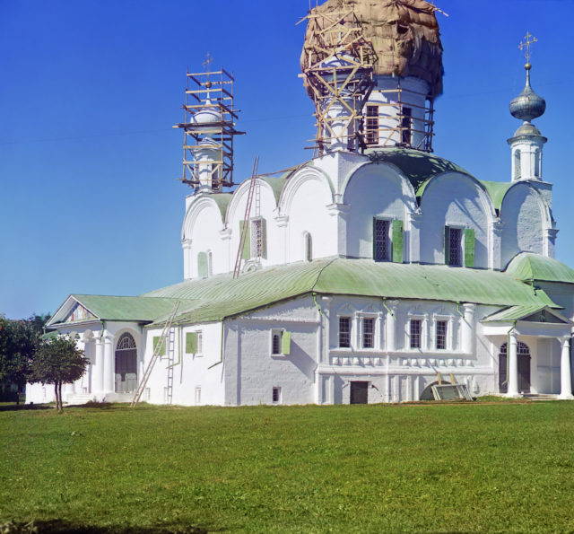 Trinity Cathedral in the Assumption Monastery - Alexandrov